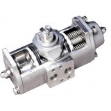 Apollo Spring return or double acting, stainless steel, quarter turn, rack and pinion actuator.