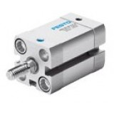 Festo Pneumatic Compact, short stroke and flat cylinder with pistion rod AEN