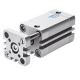 Festo Pneumatic Compact, short stroke and flat cylinder with pistion rod ADNGF, metric